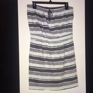 Ann Taylor LOFT Women's strapless dress.